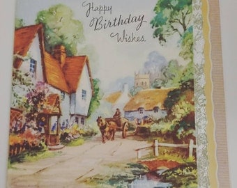 Vintage Birthday Cards For Him ~ Items similar to funny vintage birthday card greetings card for