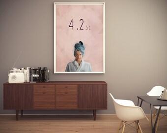 Black Mirror - Tv Show   Poster  Art   Print – Nosedive