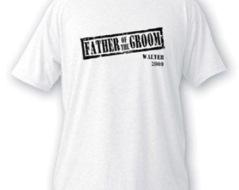 Stamp Series Father Of The Groom T-shirt