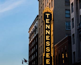 Tennessee Theatre (Knoxville) - 11x17 Glossy Print