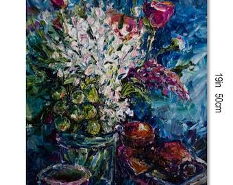 Bright bouquet, summer still life