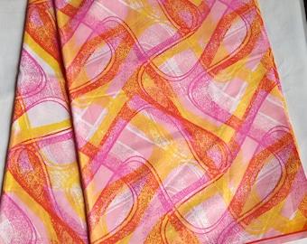 African fabrics of superior quality.