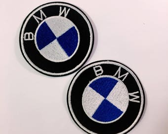 G/free shipping iron on patch /sew on/embroidery patch/bmw