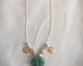 Angel Leaf Necklace
