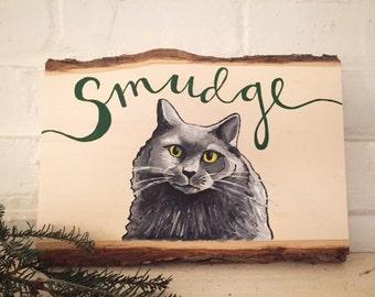 Custom Cat Sign