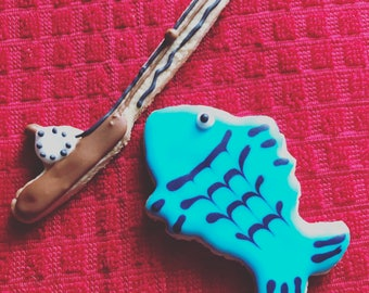 Fishing cookies (12ct)