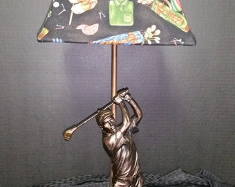Golf Theme Lamp