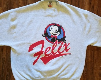 Vintage Felix the Cat  Pullover Sweater