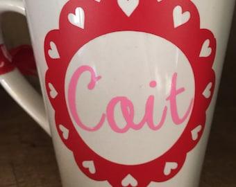 Heart Framed Mug