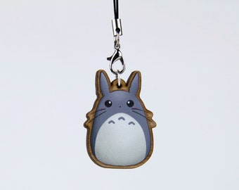 Cute Totoro * wood charm | Wood trailer *.
