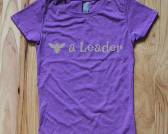 Bee a Leader Girls Tee