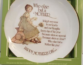 Happy Mothers Day Plate by Holly Hobbie