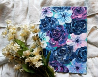 """Floral Mini Canvas