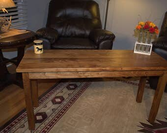 Sofa Table with Siberian Elm Top & Russian Olive Legs, Accent Table, Entry Table, Foyer Table, Entryway Table