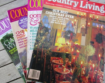 Country Living 31 copies from 1992-2011
