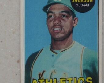 1969 Topps Reggie Jackson Rookie #260