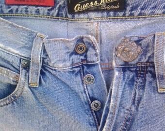 Vintage Guess Jeans ® Premium Quality Originals Caribbean Trip SeaDevil