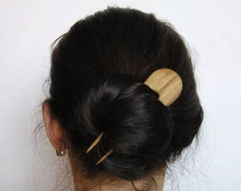 Wooden hairpin,Double Hair Stick, hairpin, , the original hairpin,  wooden pin,decoration of ash-tree