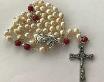 Custom Made Mother's Day Rosary - Great gift for New Mom, Grandma, Mom, Aunt, Sister
