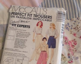 McCalls Perfect Fit Trousers 6985