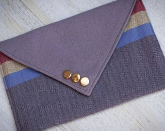 Star Trek Clutch Purse - Wesley Crusher Sweater Envelope Clutch