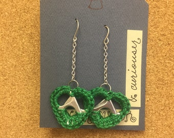soda pop tab earrings
