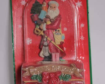 SALE - Vintage Christmas Stocking Holder from the 1990's
