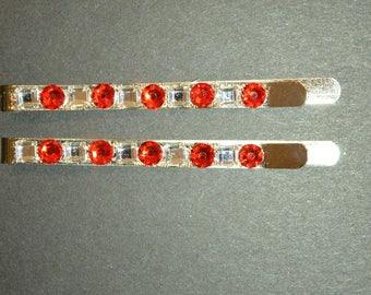 Red Geo Bobbies