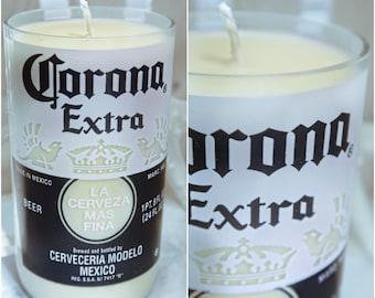 Soy Wax 16oz. Corona Extra Beer Bottle Candle (100% Vegan)