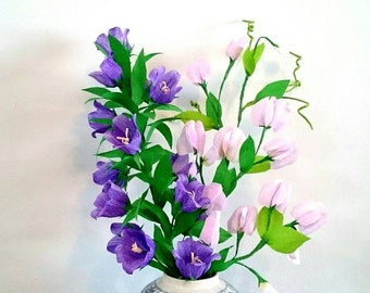 Sprigs of Gratitude - Crepe Paper Flowers