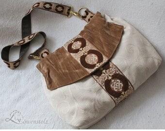 Shoulder bag in vintage look