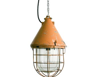 Big Industrial Lamp, EOW Mine Lamp, DDR Industrial Lamp