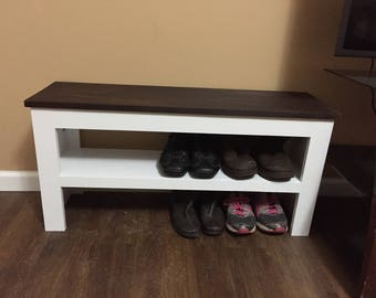 Entry way shoe rack