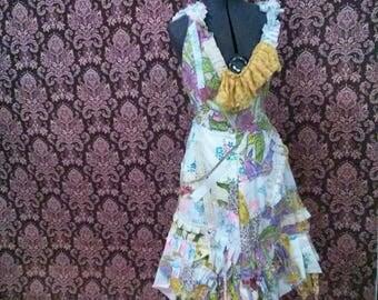 Shabby Carnival Dress Festival Hippie