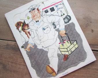 Playskool Milkman Vintage Frame Puzzle