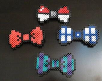 Perler bead bowties