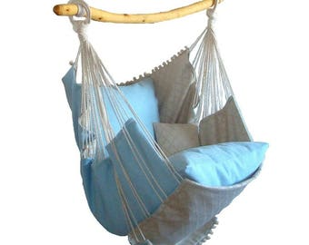 Hammock chair for home and garde, fordecor and relax.