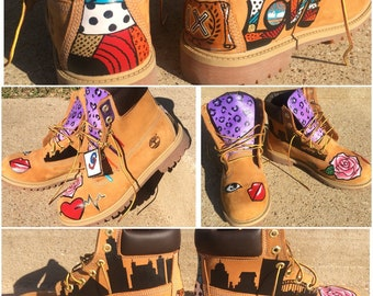 Custom Timberlands