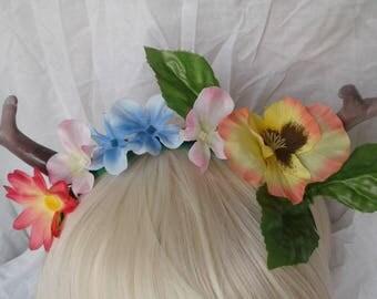Antlered Flower Crown