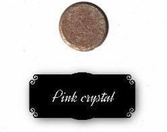 Pressed mineral eyeshadow - Pink crystal