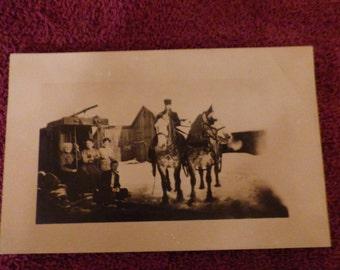 Antique Real photo postcard
