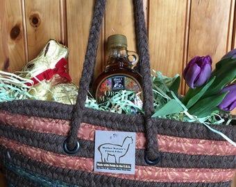 Alpaca Spring Basket