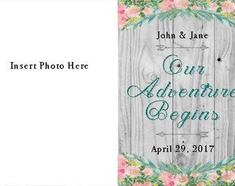 Our Adventure Begins - Save the Date