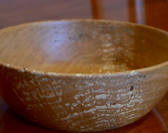 Small birch fruit bowl