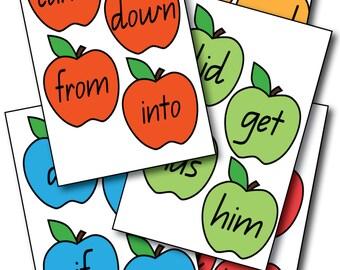 Apple Tree Sight Words - Printable
