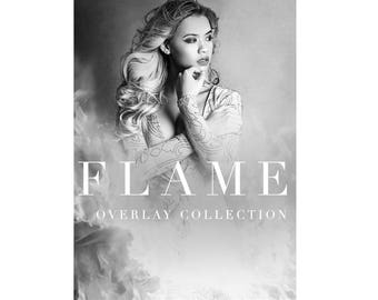Photography Overlays: Flame Overlay Collection / Fire Overlays / Smoke Overlays