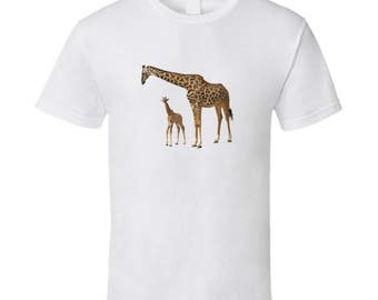 Cute Giraffe T Shirt