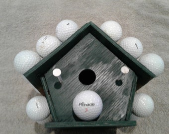 Golf Ball Birdhouse