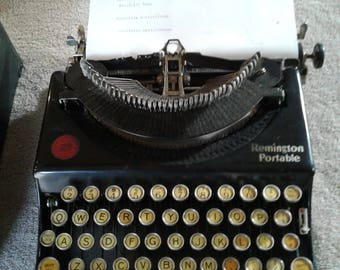 Antique Remington Portable Typewriter 1926