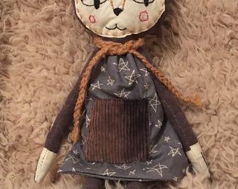 Cloth Doll - Coco Cat